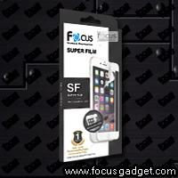 โฟกัสฟิล์มพิเศษ ลงโค้ง SF (สีขาว) Apple iPhone 6 Plus