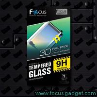 โฟกัสกระจกกันรอยฟูลสติ๊ก สีดำ (3D FS Black) Samsung Galaxy Note 9