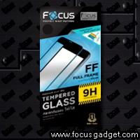 โฟกัสกระจกกันรอยเต็มจอถนอมสายตา (สีขาว) Apple iPhone 6 Plus