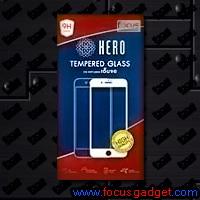 ฮีโร่กระจกกันรอยเต็มจอสีดำ (HERO FF Black) Apple iPhone 8 Plus